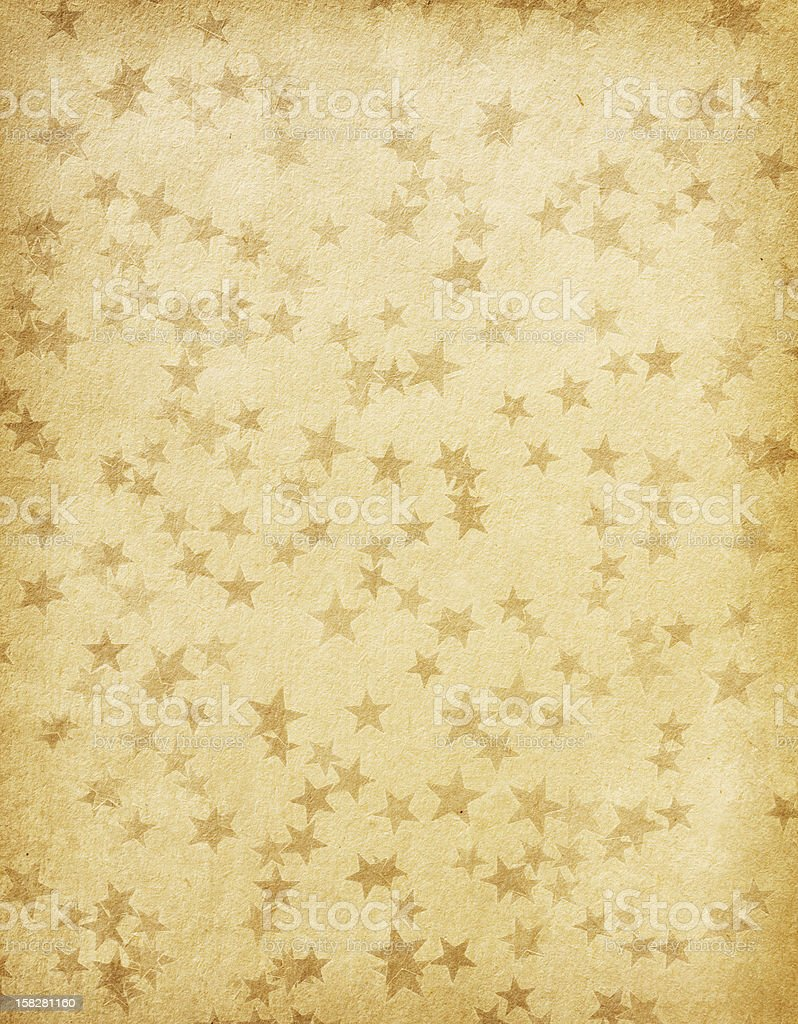 paper decorated with  stars royalty-free stock photo