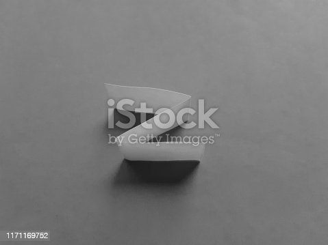 477312602 istock photo Paper effects black and white photo 1171169752