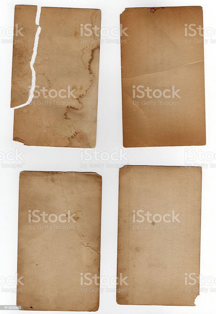 Paper Elements XXL stock photo