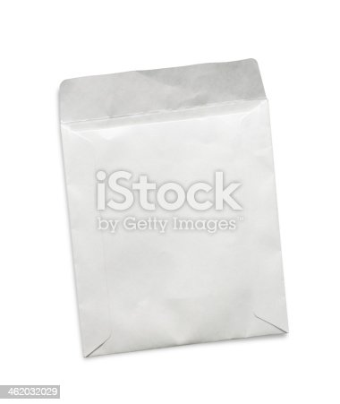 istock Paper envelope isolated on white background 462032029