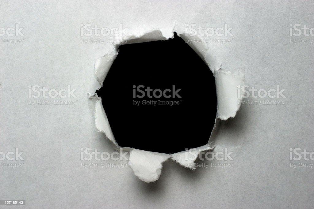 Paper Explosion stock photo