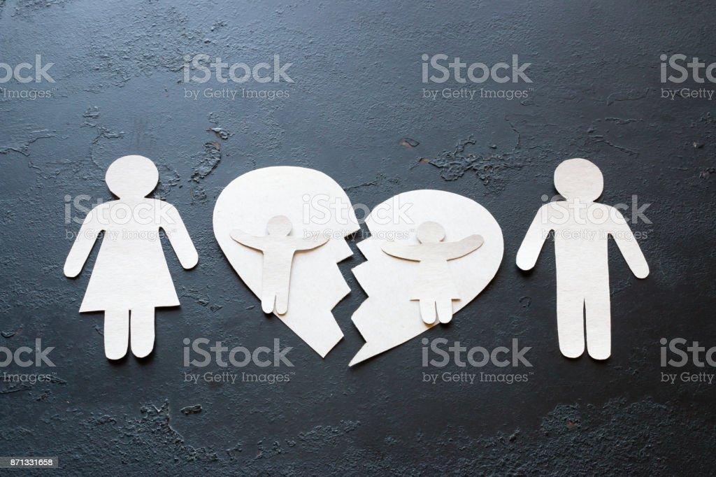 Divorce harms children term paper