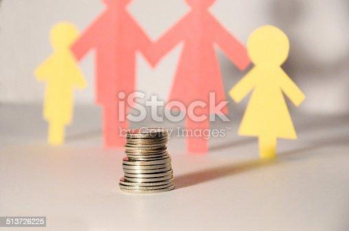 istock paper family saving 513726225