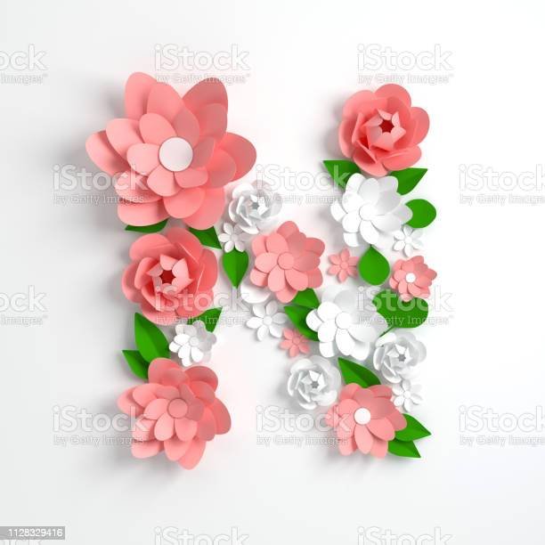 Paper flower alphabet letter n 3d render pastel colored flowers in picture id1128329416?b=1&k=6&m=1128329416&s=612x612&h=cvfobe3pnzupalliy4qlcznhx0odag5byazwmfothxu=