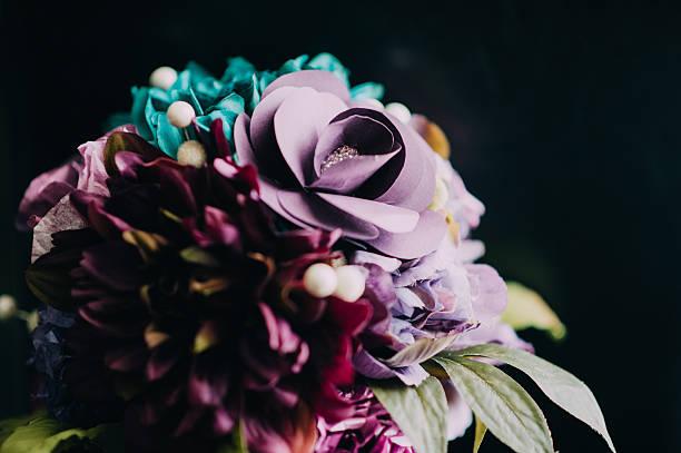 Paper Flower Bouquet stock photo