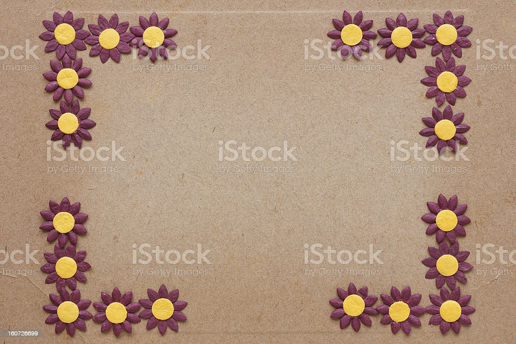 paper flower pattern royalty-free stock photo