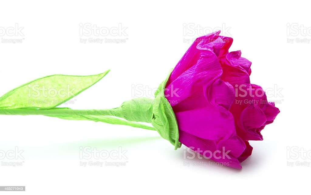 paper flower stock photo