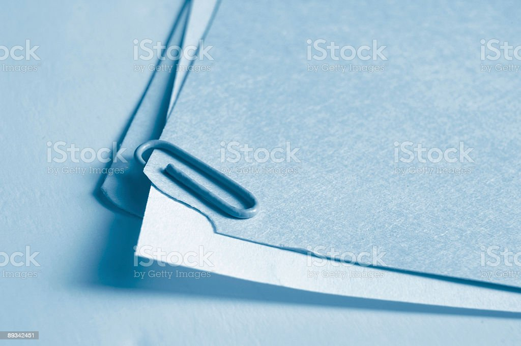 Paper folder royalty-free stock photo