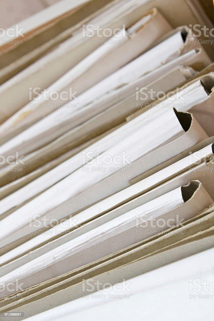 paper folders royalty-free stock photo