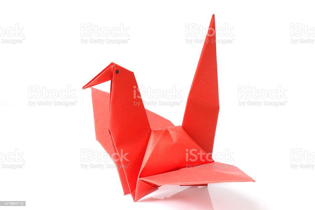 Extrem Falten Origami Papier Vögel Stockfoto und mehr Bilder von Falten HI81