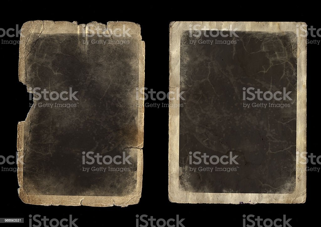 paper for a photo royalty-free stock photo