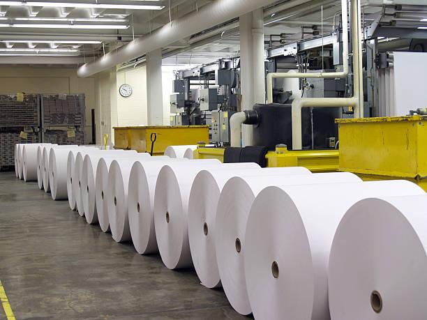 papel para a imprensa - cilindro - fotografias e filmes do acervo