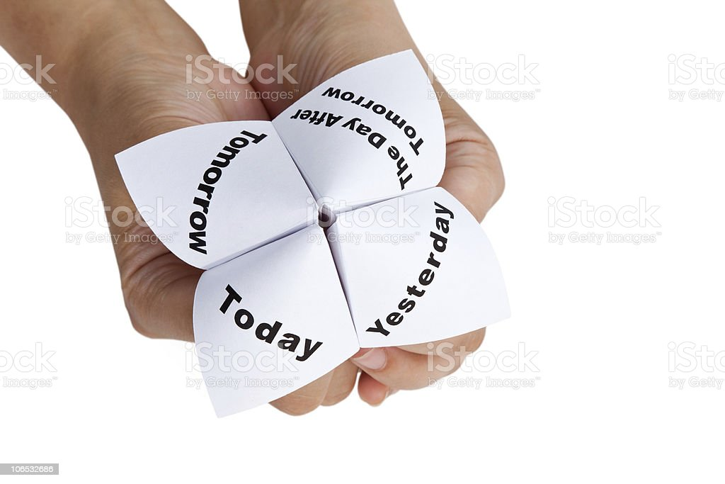 Paper Fortune Teller royalty-free stock photo