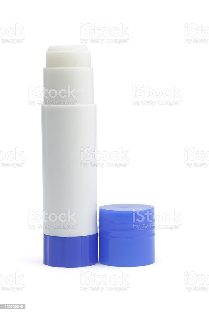 Paper glue stick stock photo