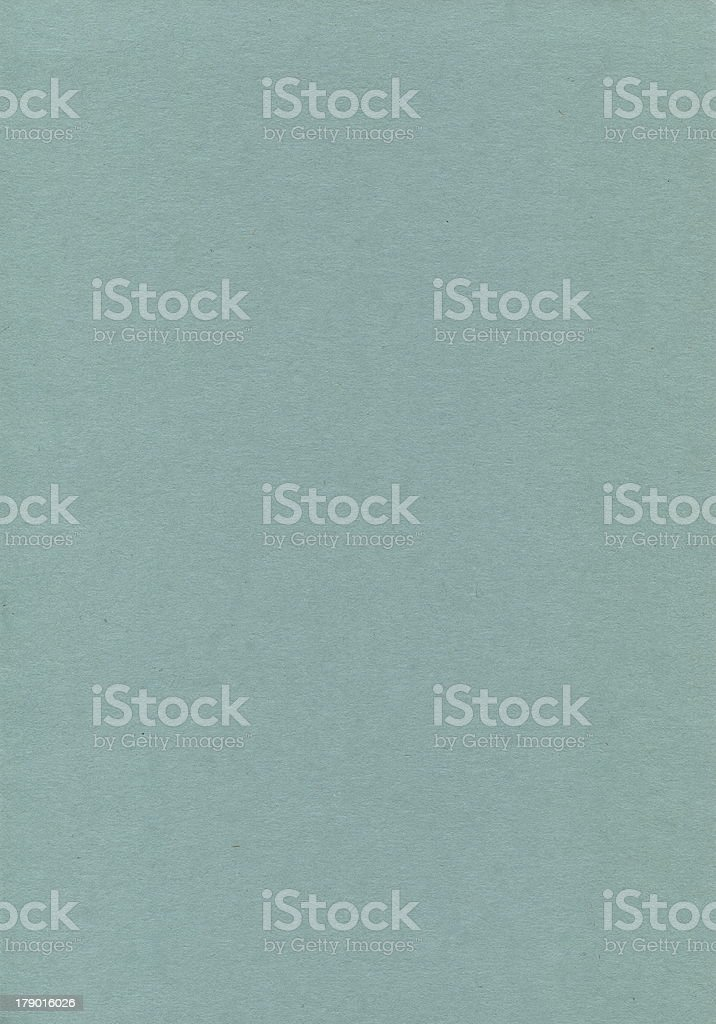 Paper green. Evenly colored with very little texture. royalty-free stock photo
