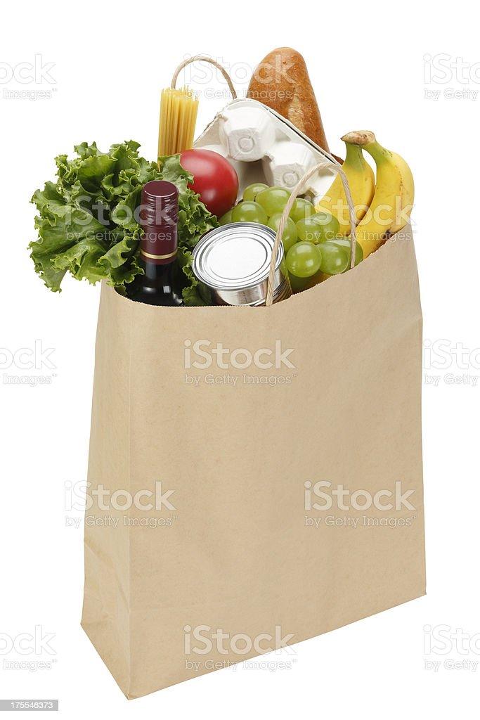 Paper Grocery Bag stok fotoğrafı
