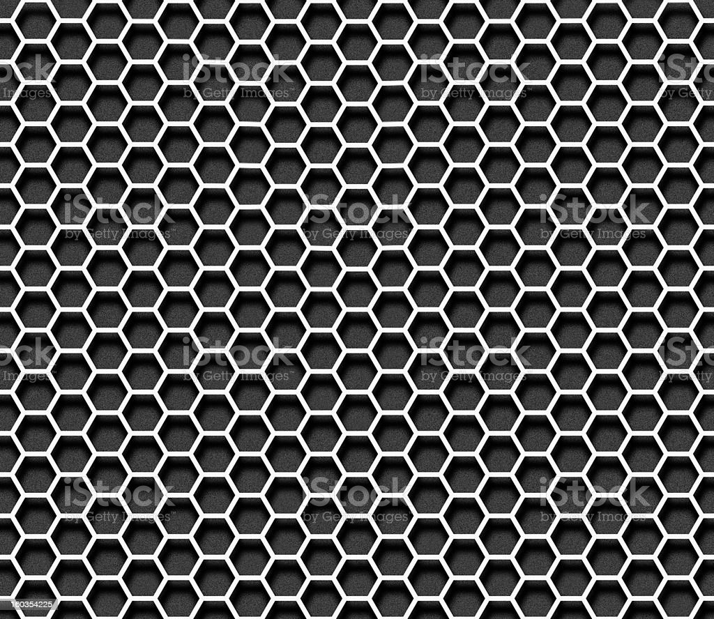 Paper hexagon seamless background royalty-free stock photo