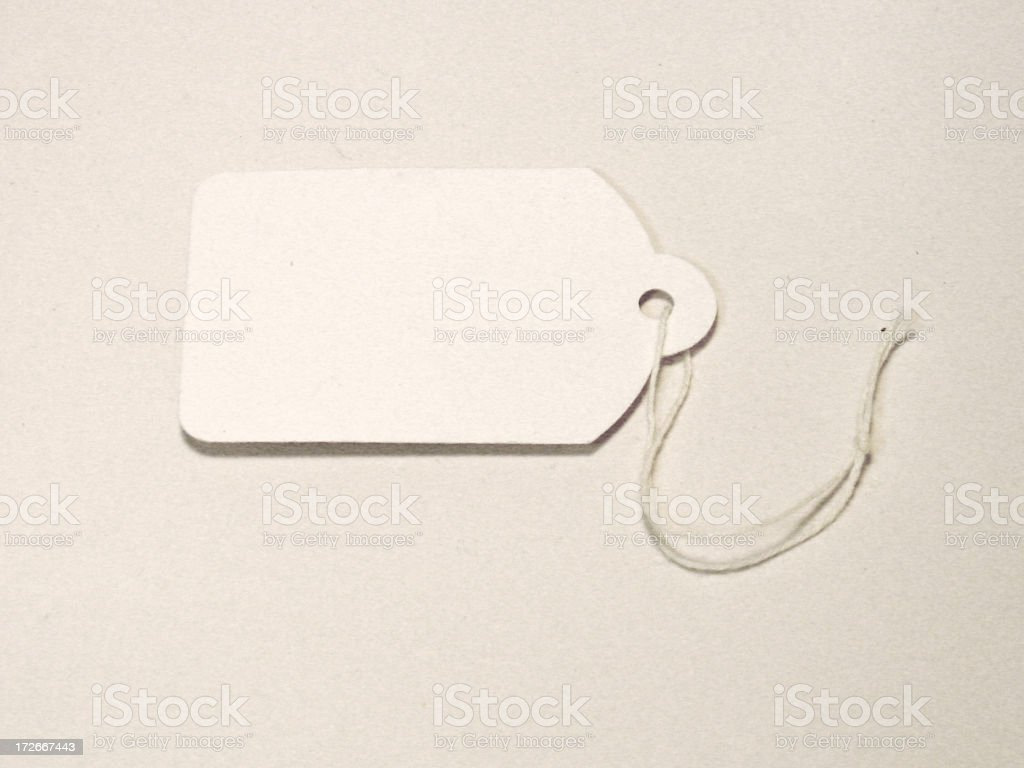 paper label royalty-free stock photo