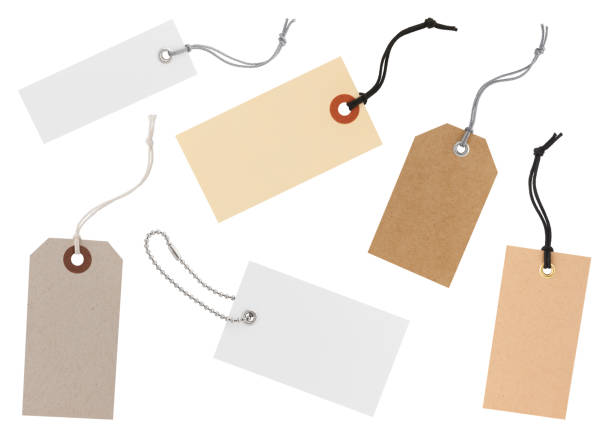 Paper Labels Collection stock photo