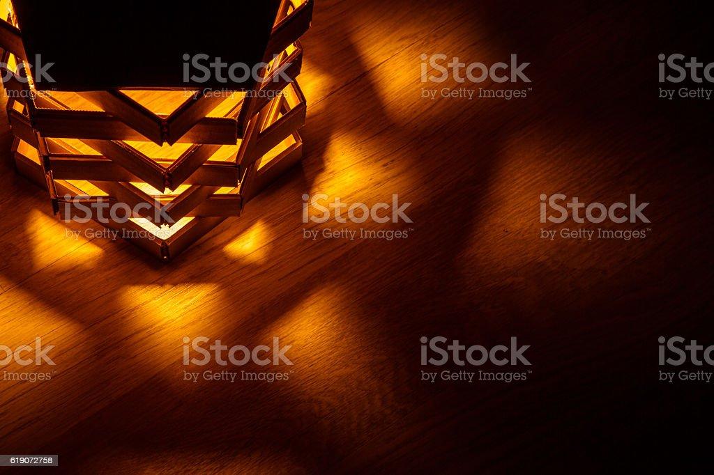 paper lantern stock photo