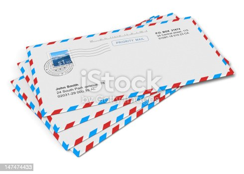 istock Paper mail letters 147474433