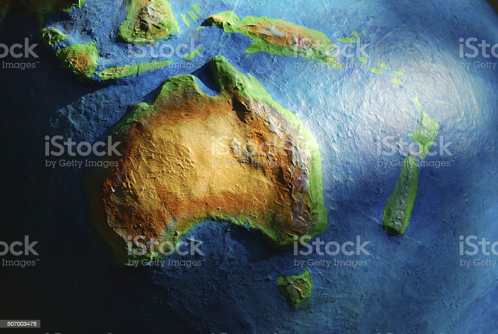 Papier Mache Australia stock photo