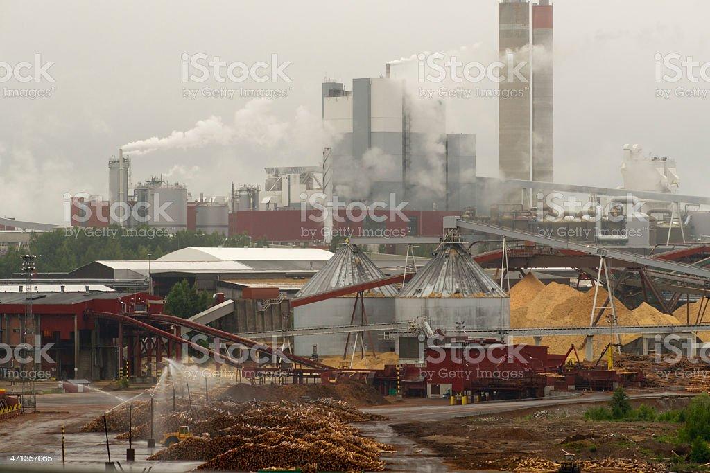 Paper mill – Foto