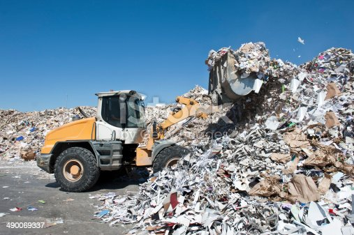 Waste paper recycling for Paper mill