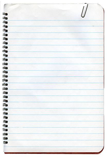 paper notebook - linjerat papper bakgrund bildbanksfoton och bilder