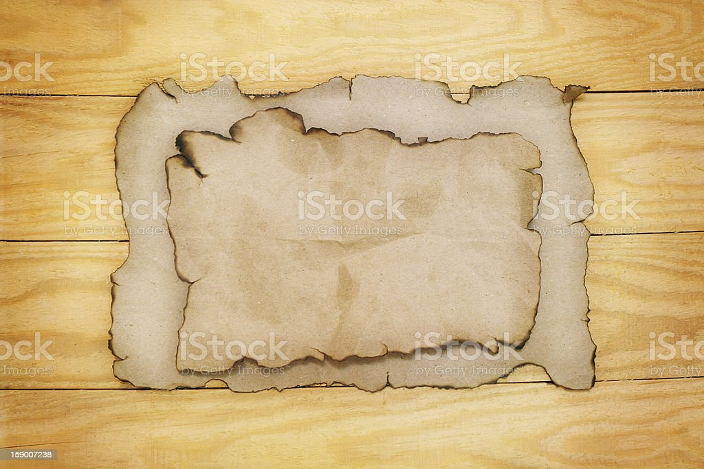paper on  boards royalty-free stock photo