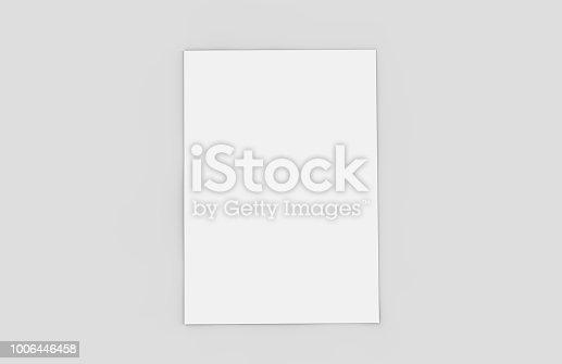 Model - Object, Flyer - Leaflet, Letterhead, Template, Paper