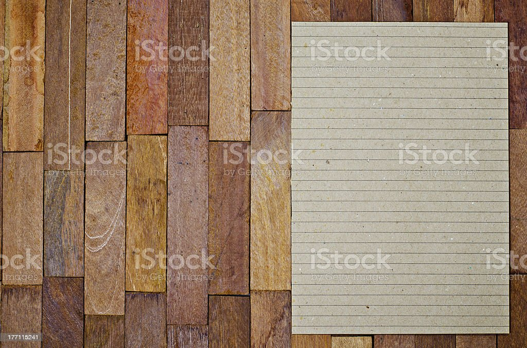 paper on table royalty-free stock photo
