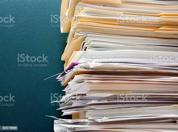 Paper Overload Stock Photo - Download Image Now