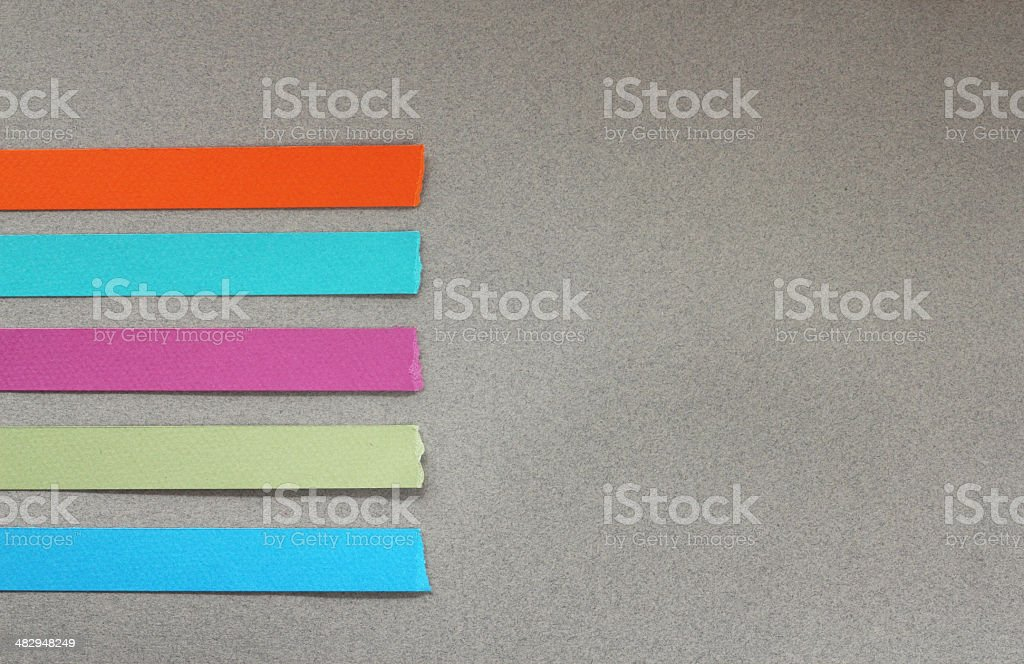 Paper page options banner stock photo