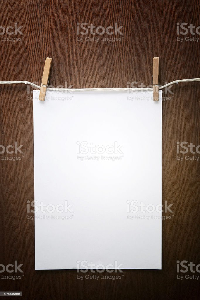 1 paper royalty-free stock photo
