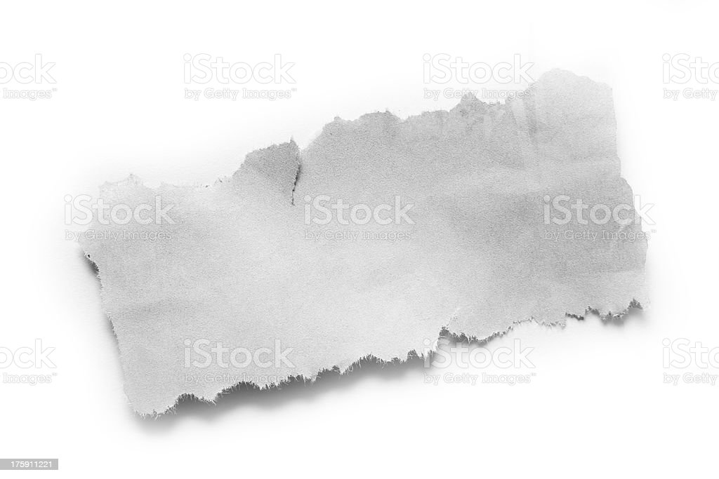 Paper piece stock photo