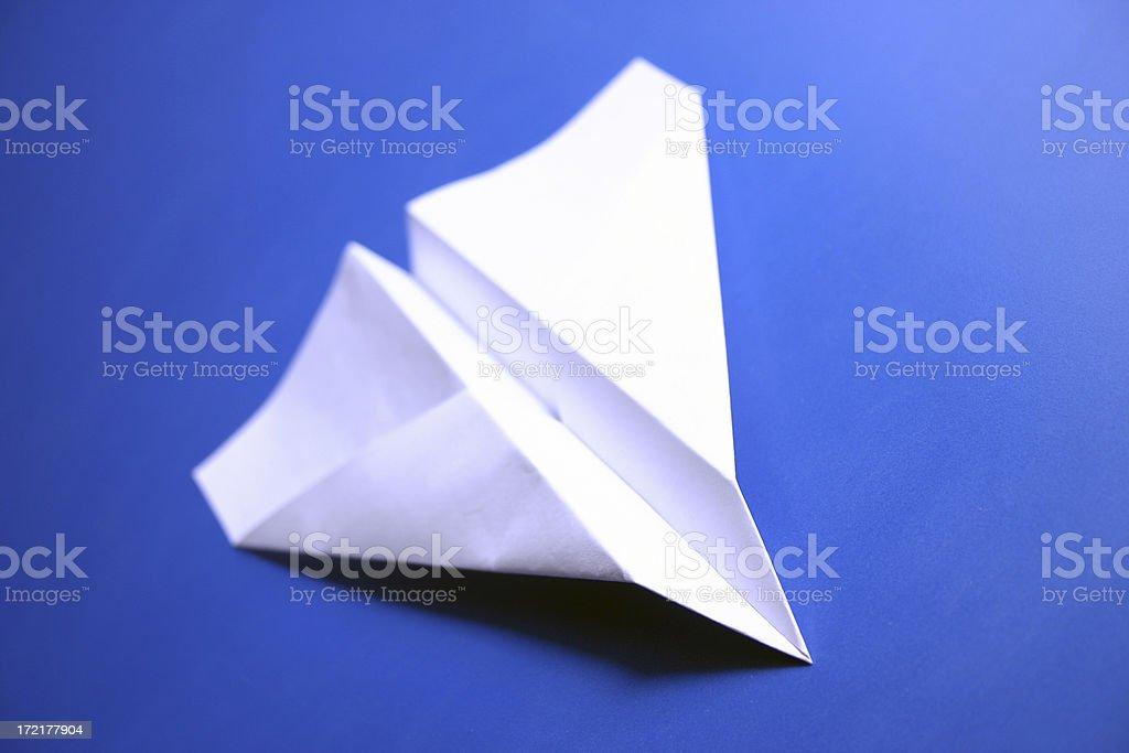 Paper Plane 2 royalty-free stock photo