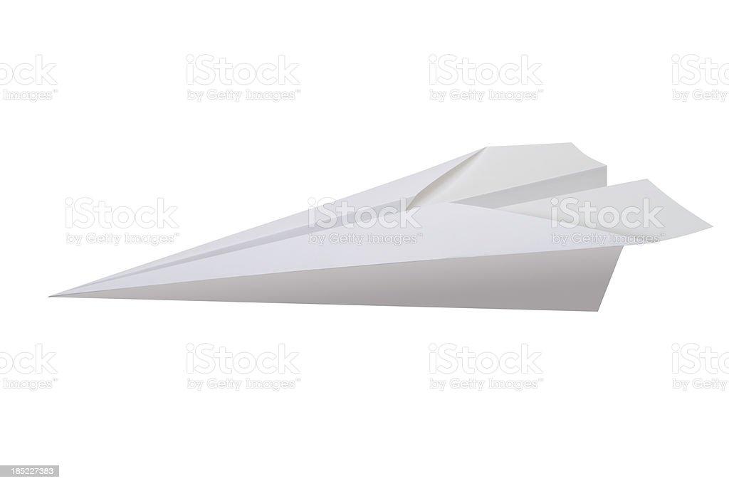Avión de papel - foto de stock