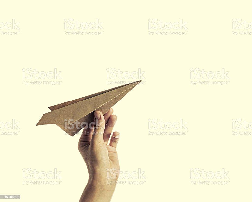 Papier plane3 - Photo