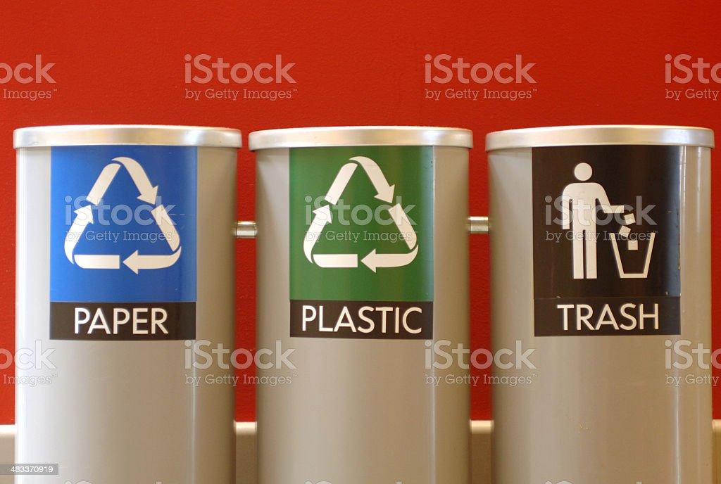 Paper, Plastic, Trash royalty-free stock photo