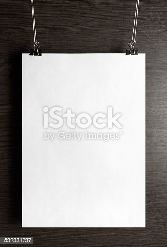 532332971 istock photo Paper poster 532331737