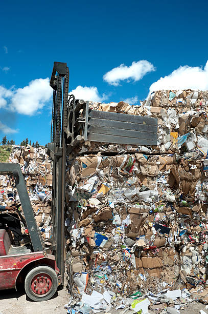 recycling-Papier – Foto