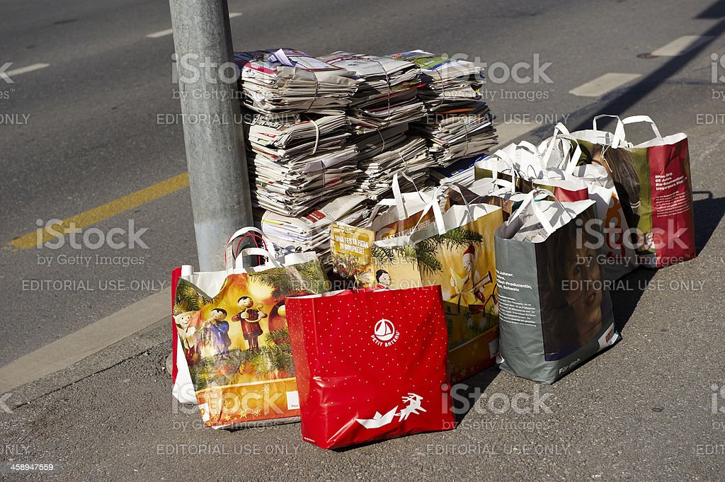 Paper Recycling royalty-free stock photo
