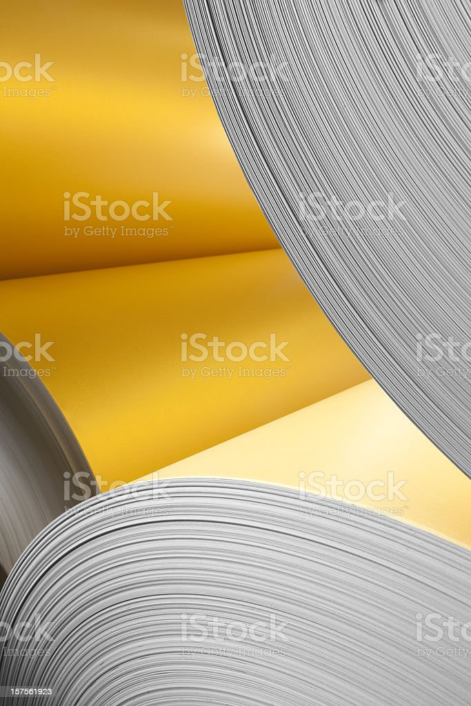 Paper roll. stock photo