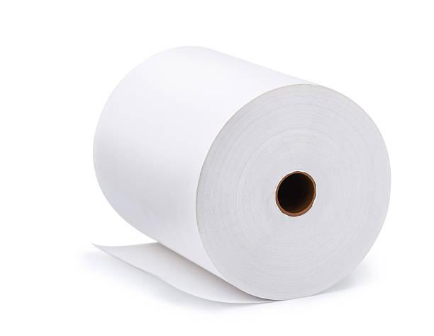 papier-roll - papierrollen stock-fotos und bilder