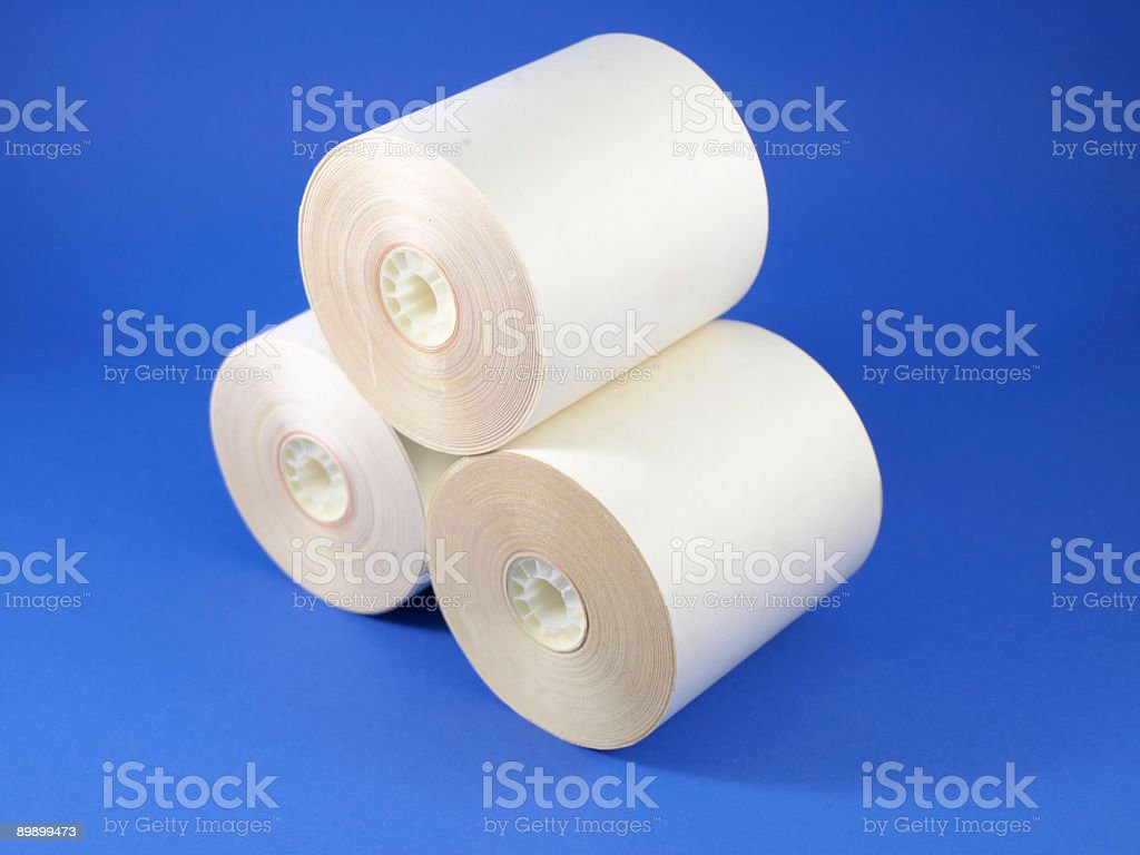 Paper rolls royalty-free stock photo