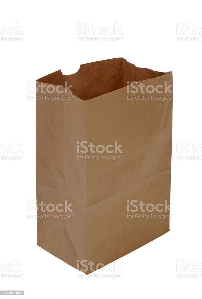 Paper Sack royalty-free stock photo