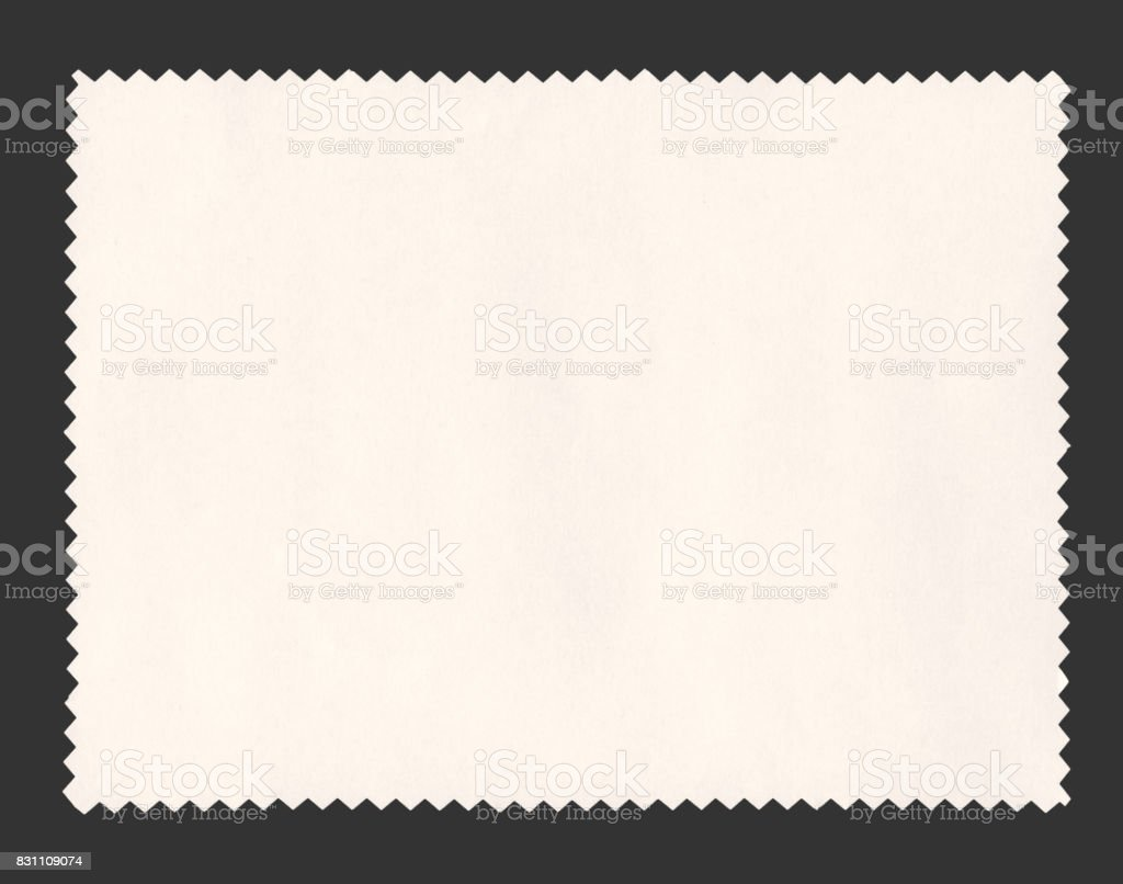 paper sample isolated stock photo