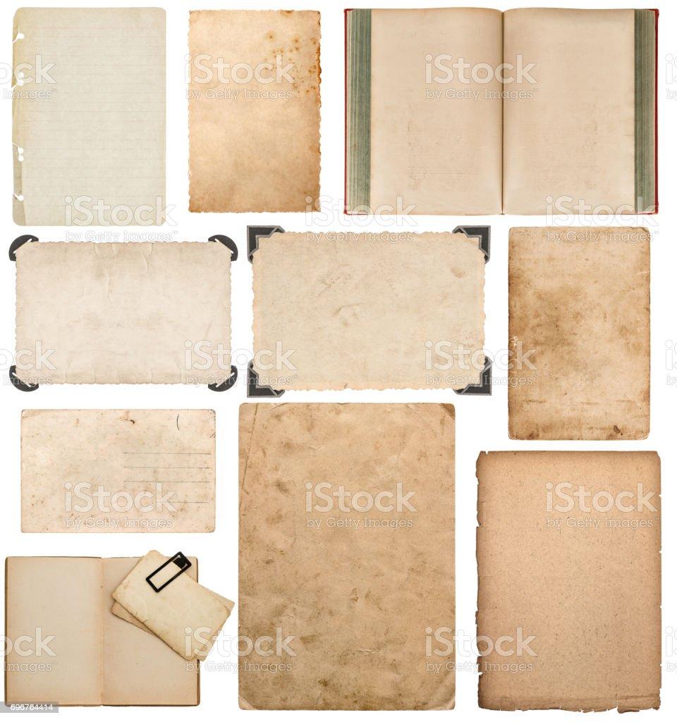 Paper Sheet Book Cardboard Photo Frame Corner Scrapbook Stock Photo ...