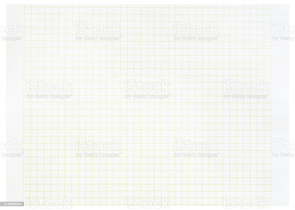 Paper sheet over a white background. stock photo